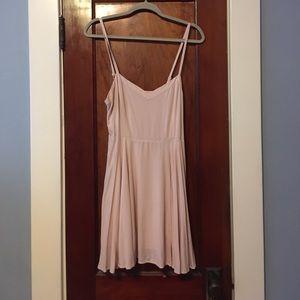 Talula light pink mini dress